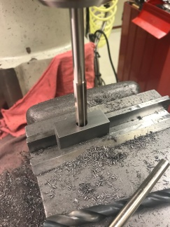 Reaming the sleave bearing bore